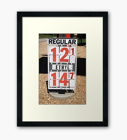 Route 66 Nostalgia Framed Print