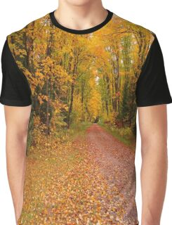 Yellow Walkway Graphic T-Shirt