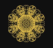 gold pattern mandala T-Shirt
