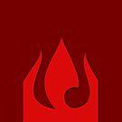 Fire Nation Symbol by Alexandra Grant