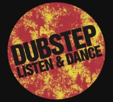 Dubstep Listen & Dance (lava) Kids Clothes
