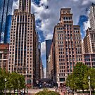 Michigan Ave. Landscape by anorth7