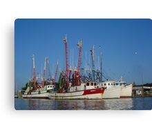 Shem Creek 2 Canvas Print
