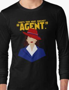 agent Long Sleeve T-Shirt