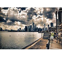 View from Navy Pier 2 Photographic Print