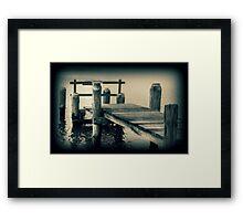 - DANGER - Framed Print