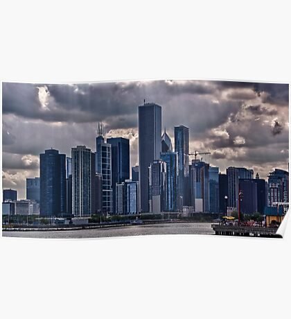 Striking Cityscape Poster