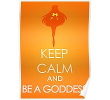 Keep Calm - Sailor Venus Poster Poster