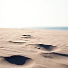 Footprints in the Sand by Kurt Rahn