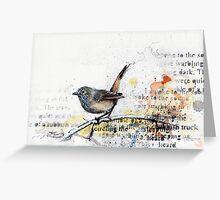 Inland Thornbill Greeting Card