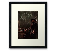 High Plains Drifter Framed Print