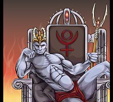 Hades Enthroned by Benjamin Bader