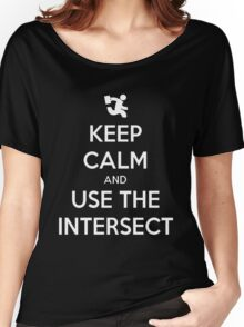 Keep Calm & Use The Intersect Women's Relaxed Fit T-Shirt