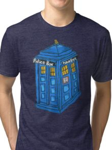 Eternal Tardis  Tri-blend T-Shirt