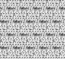 Fallout 4 Gun Pattern by LightPopArt