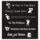 Disney lessons learned 2 STICKER by ashleykathrine