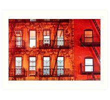 Never Sleep - New York City Buildings Art Print