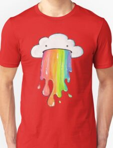 cute rainbow cloud  Unisex T-Shirt