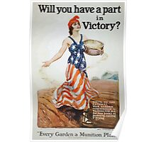Will you have a part in victory 002 Poster