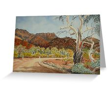 Vulkathuna, Gamon Ranges, Flinders Ranges Greeting Card