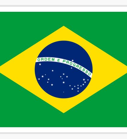 Brazil World Cup Flag - Brazilian T-Shirt Sticker