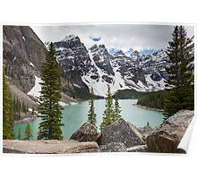 Moraine Lake, Banff National Park Poster