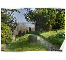 The Graveyard In Spring Poster