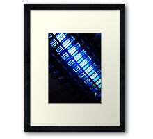 Warning to all kind of bugs: this is not cool! Framed Print
