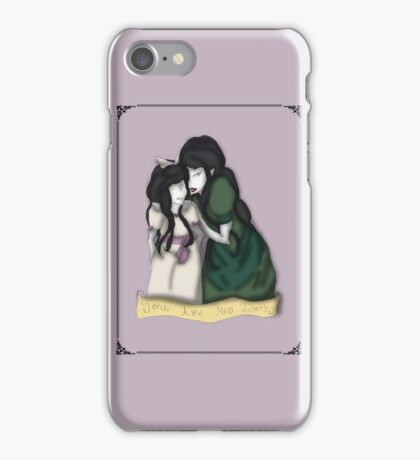 You Are My Liberty Child and Adult Bernadette Cover iPhone Case/Skin