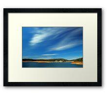 Canning Dam - Western Australia  Framed Print