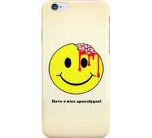 Don't worry. Be eaten. iPhone Case/Skin