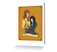 You Are My Liberty Alphonse Cover Greeting Card