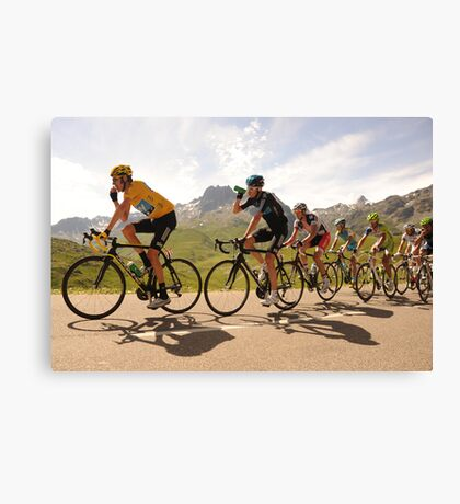 Team Sky Canvas Print