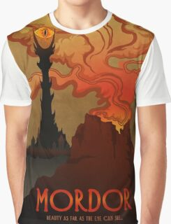 Mordor Travel Graphic T-Shirt