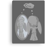 The image of an angel is an angel Canvas Print