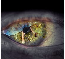 The eye of the beholder Photographic Print