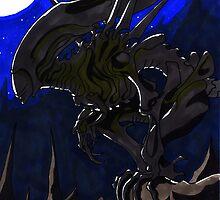 Queen Alien by ClyMothershop