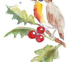 Season's Greetings! 1 Little bird (1) by Maree Clarkson