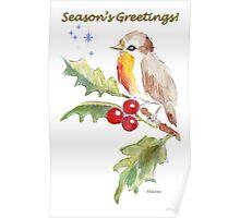 Season's Greetings! 1 Little bird (1) Poster