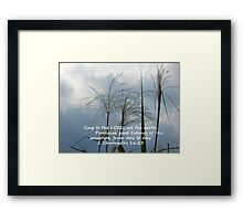 """1 Chronicles 16:23""  by Carter L. Shepard Framed Print"