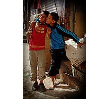 Sons of Morocco Photographic Print
