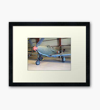 Bell P-39 Aircobra - On Display Framed Print