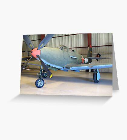 Bell P-39 Aircobra - On Display Greeting Card