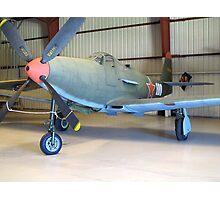 Bell P-39 Aircobra - On Display Photographic Print