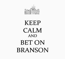 bet on Branson (black) Womens Fitted T-Shirt