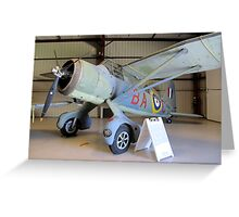 Port Side View - Canadian Lysander Aircraft Greeting Card