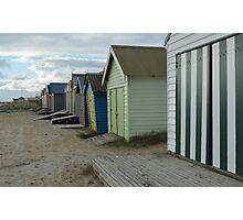 Beach Huts , Melbourne  Photographic Print
