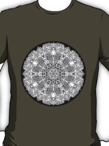 Mandala 47 Black and White T-Shirts & Hoodies T-Shirt