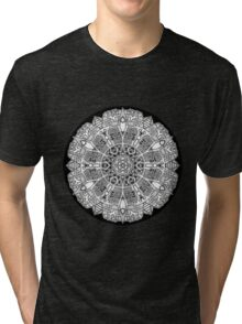 Mandala 47 Black and White T-Shirts & Hoodies Tri-blend T-Shirt