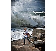 serious surf Photographic Print